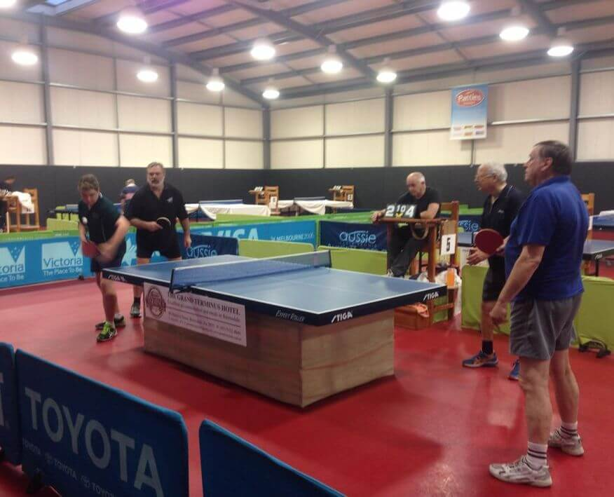 Bairnsdale Keen Agers   Table Tennis