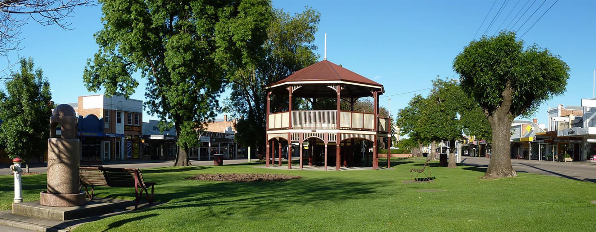 Bairnsdale Rotunda - Colonial Motor Inn Bairnsdale